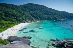 Similan islands, Thailand, Phuket. Bird-eye view at Similan islands, Thailand, Phuket Stock Images