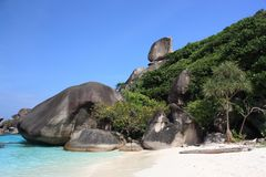 Similan islands Stock Photography
