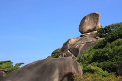 Similan islands Royalty Free Stock Images