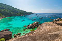 Similan Islands View Point Royalty Free Stock Image