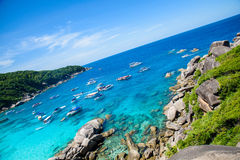 Similan IslandThailand Photo libre de droits