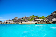 Similan IslandThailand Royalty-vrije Stock Foto's