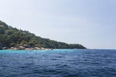 Similan nationaal park in Thailand stock fotografie