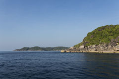 Similan nationaal park in Thailand royalty-vrije stock afbeeldingen