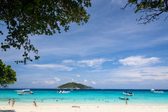 Similan National Park, paradise island Royalty Free Stock Photos