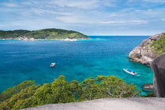 Similan National Park, paradise island Royalty Free Stock Photo