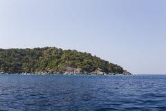 Similan national park in Thailand Royalty Free Stock Image