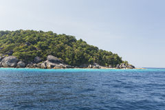 Similan national park in Thailand Royalty Free Stock Photos
