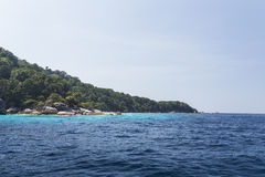 Similan national park in Thailand Stock Photography