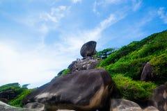 Similan park narodowy, tropikalna plażowa wyspa Zdjęcia Stock