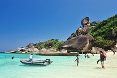 SIMILAN, PHANG NGA, THAILAND Royalty Free Stock Photo