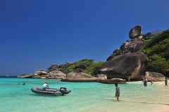 SIMILAN, PHANG NGA, THAILAND Royalty Free Stock Image