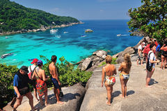 SIMILAN, PHANG NGA, THAILAND Stock Images