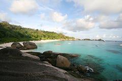 Similan Viewpoint. At Eight Island Similan Island Thailand stock photography