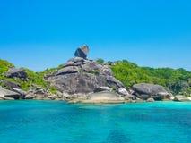 Similan wyspa, Koh Osiem, Tajlandia Obrazy Stock