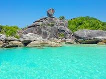 Similan wyspa, Koh Osiem, Tajlandia Zdjęcia Royalty Free