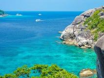 Similan wyspa, Koh Osiem, Tajlandia Obraz Royalty Free