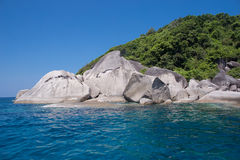 Similan wyspa, Tajlandia Fotografia Royalty Free