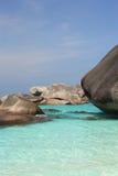 Similan wyspy, Tajlandia Zdjęcia Stock