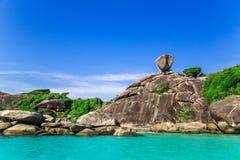 Similan wyspy, Tajlandia obraz royalty free