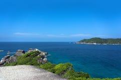 Similan wyspy Tajlandia Zdjęcia Royalty Free