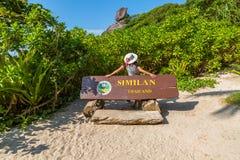 Similan wyspy Tajlandia Obrazy Royalty Free