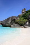 Similan wyspy, Tajlandia, Phuket Fotografia Stock