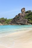 Similan wyspy, Tajlandia, Phuket Fotografia Royalty Free