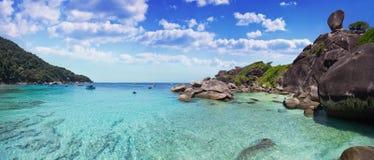 Similaneilanden Stock Foto