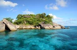 Similaneilanden in Andaman-overzees, Thailand Royalty-vrije Stock Foto's