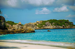 Similans Island of Thailand stock photo