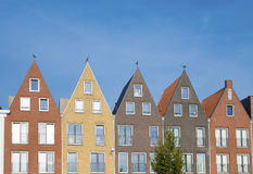 Similar rooftops Royalty Free Stock Photography