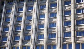 Similar windows background. Of modern building royalty free stock image
