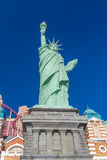 Similarité de statue de Liberty Statue au nouveau York-nouveau casino de York photographie stock
