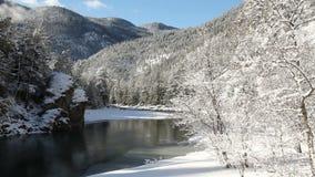 Similkameen flodvinter, British Columbia arkivfilmer