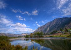 Similkameen River Stock Photo