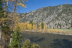 Similkameen River by Princeton Royalty Free Stock Image