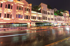 Simingnanlu ( south siming street) rainy night Royalty Free Stock Image
