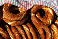 Simit Bread, Istanbul - Turkey Royalty Free Stock Photography