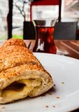 Simit. With cheese Stock Photo