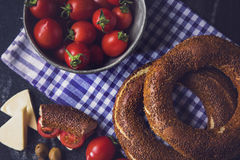Simit Stock Photography