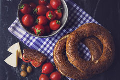 Simit Royalty Free Stock Photos