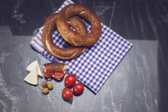 Simit Royalty Free Stock Photo