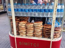 Simit Stock Photo