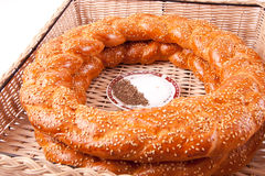 Simit Turkish Royalty Free Stock Image