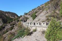 Simitai część wielkiego muru lato Zdjęcia Royalty Free