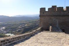 Simitai mooi deel van Grote Muur Peking China Stock Foto