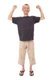 Simling man Stock Image