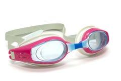 simma för goggles royaltyfria bilder