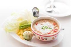 Simmer chili crab Stock Photo